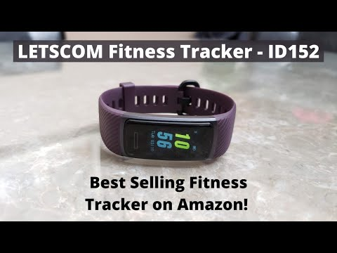 LETSCOM Fitness Tracker Complete Review Great Budget Tracker with Many Features