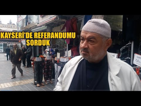 Referandumu Kayseride Sorduk!