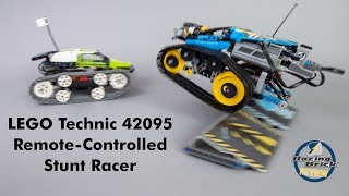 A boosted 42065 RC Tracked Racer? - LEGO Technic 42095 Remote-Controlled Stunt Racer review