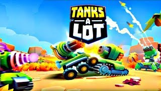 Tanks A Lot! - Realtime Multiplayer Battle Royale And 3 VS 3  #3 | Android Gameplay | Droidnation