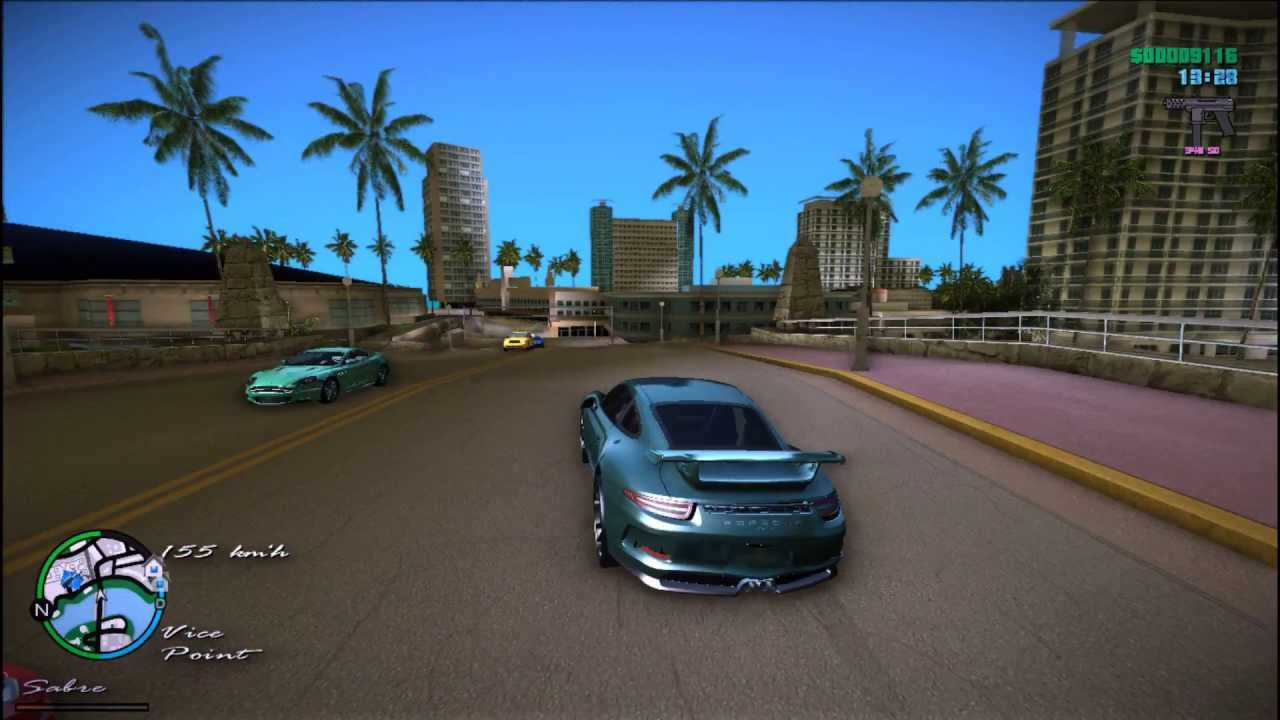Gta vice city porsche 911 gt3+sound [download link] youtube.
