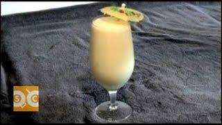 Coconut & Mango Tropical Smoothie