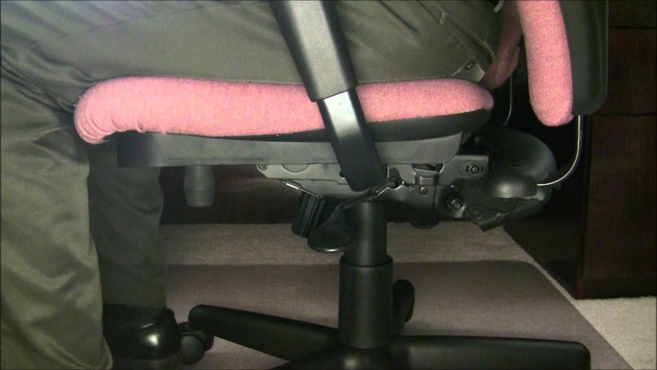 How to Fix a Sinking Office Chair Video With A Chair Saver