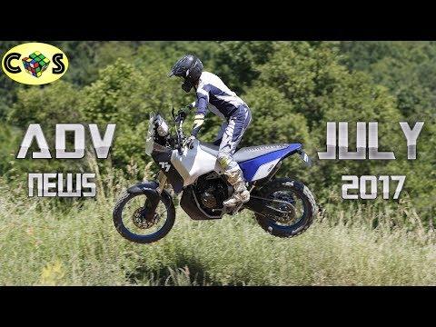 Adventure News Yamaha T7 Honda Crf500l And Ccm Gp600