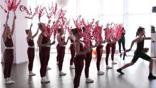 Праздничный открытый урок в школе танцев UNI-GYM, шоу-группа