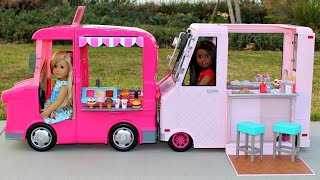 doll toy review   ice cream truck my life as or our generation