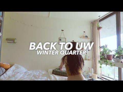 BACK TO UW! --  QUARTER OF ART/DESIGN CLASSES?? | UNIVERSITY OF WASHINGTON | VLOG 13