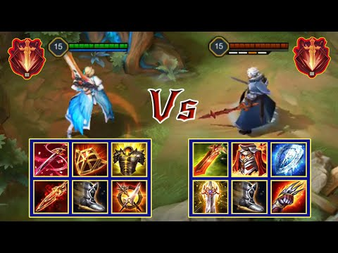 ASTRID vs ALLAIN | FULL BUILD FIGHT | Liên Quân Mobile/AOV/ROV