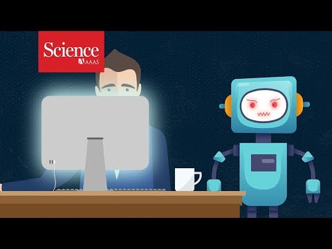 Being watched by a cranky robot might help you focus