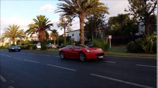 3 x Supercars Ferrari California AMAZING Racing !