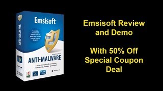 Emsisoft Anti Malware Review  | Emsisoft Discount Tips | Best Computer Security Software.