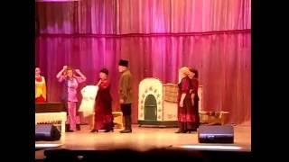 Казачий обряд  Вывод невесты из отчего дома с приданным