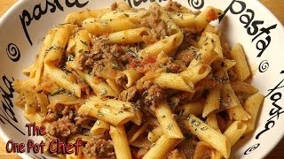 Lamb And Caramelized Onion Pasta - Recipe