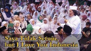 Cak Nun: Saya Tidak Setuju, but I Love You Indonesia