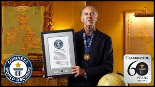 Highest Mountain - Sir Ranulph Fiennes OBE - Guinness World Records 60th Anniversary