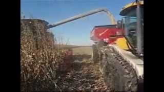 Corn Harvest In Iowa