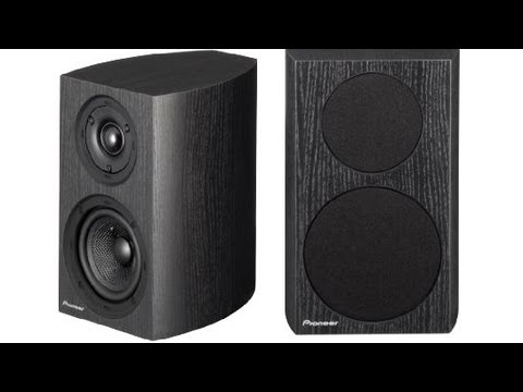 Pioneer SP BS21 LR Bookshelf Speakers HQ Stereo