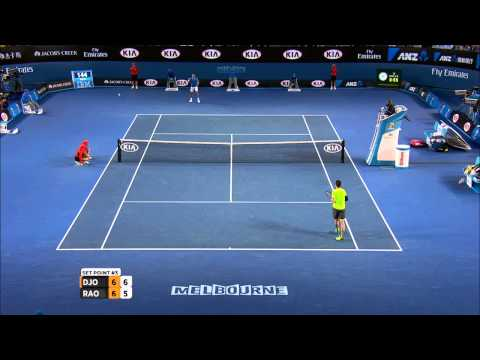 Novak Djokovic v Milos Raonic highlights (QF) - Australian Open 2015