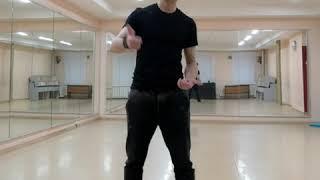 Клубные танцы для мужчин  С чего начинать ЧАСТЬ5