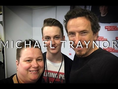 Robbie Templeton Magician performing for Michael Traynor (Nicholas - The Walking Dead)