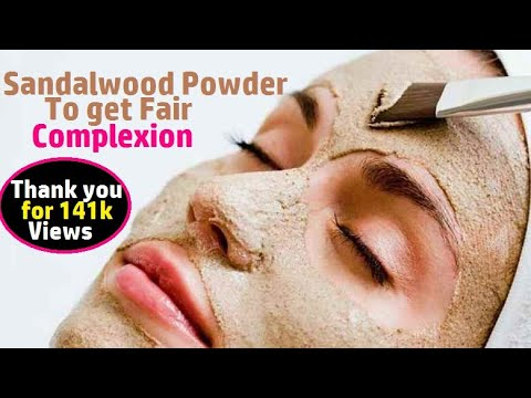 Sandalwood Powder to get Fair Complexion and Flawless skin