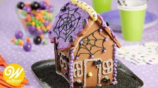 How to Decorate a Halloween Cookie House | Wilton