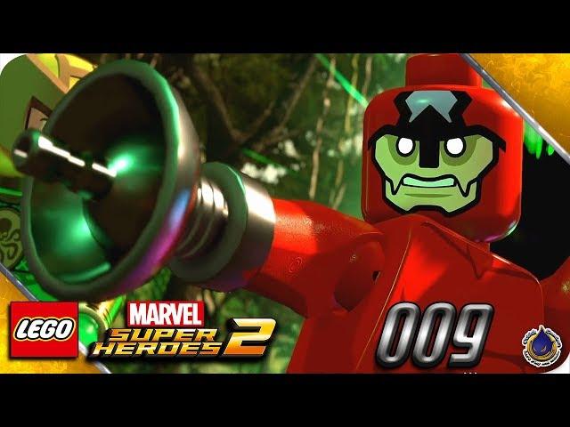 Let's Play LEGO MARVEL SUPERHEROES 2 💥 [009] Bass, Bass, wir brauchen Bass!
