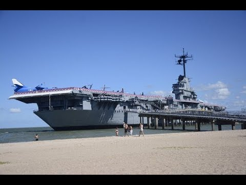 Exploring Restricted areas of an Aircraft Carrier!