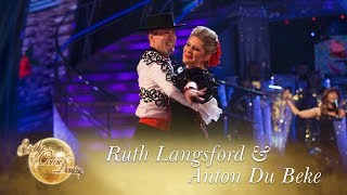 Ruth And Anton Paso Doble To 'the Shady Dame From Seville' - Strictly Come Dancing 2017