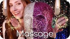ASMR 4 x Tingles ✨ Gel Pad Lotion Ear Massage, Head Scratching, Brushing, Peeling & Whispering +