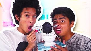 Toilet Trouble Challenge!!!