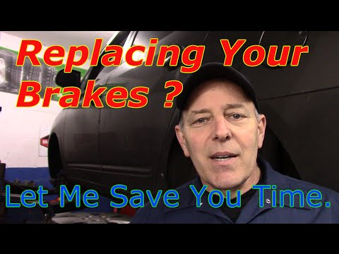 How To Replace Front And Rear Brakes On A Kia Rondo