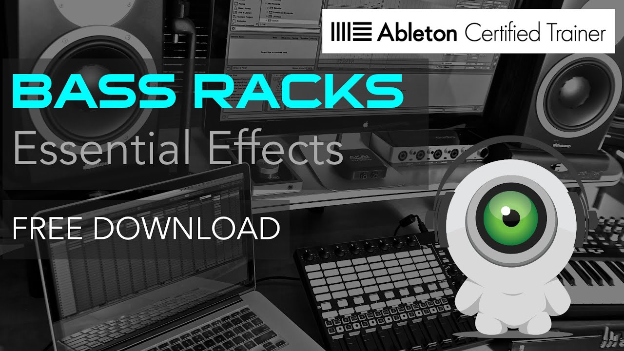 2 Essential Bass Effects Racks in Ableton Live
