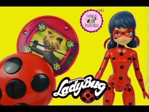 De En ProdigiosaLas Aventuras Español Intercomunicador Ladybug Juguetes Secreto 4SARLq35cj