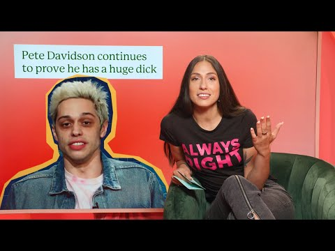 Pete Davidson Continues To Prove He Has A Huge Dick
