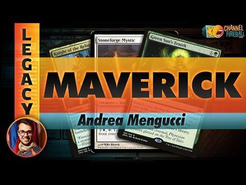 Channel Mengucci - Legacy Maverick (Deck Tech & Matches)