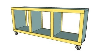 Cubby Bench Plans