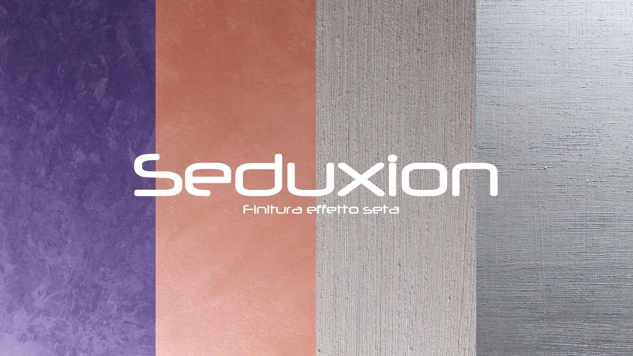 Finitura murale perle di seta 200 ml. Rives Seduxion Finitura Effetto Seta Youtube