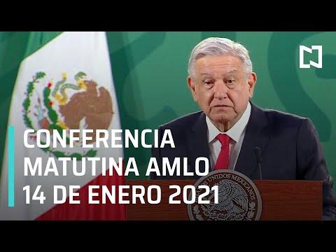 Conferencia matutina AMLO / 14 de enero 2021