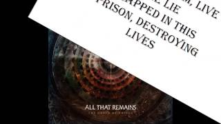 All that remains - Fiat empire (lyrics, text)