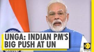 Indian PM's virtual address at UNGA, Modi demanded bigger role at UN | India | UNGA | World News