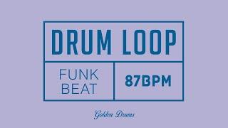 Funk Drum Loop 87 BPM