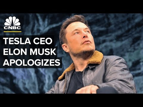 Tesla CEO Elon Musk Apologizes: 'No Excuse for Bad Manners' | CNBC