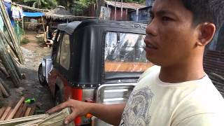 Making Nipa Leaf Roof Shingles - Bahay Kubo - Cris Bamboo