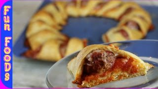 Meatball Sub Ring   How to Make a Meatball Sub Ring