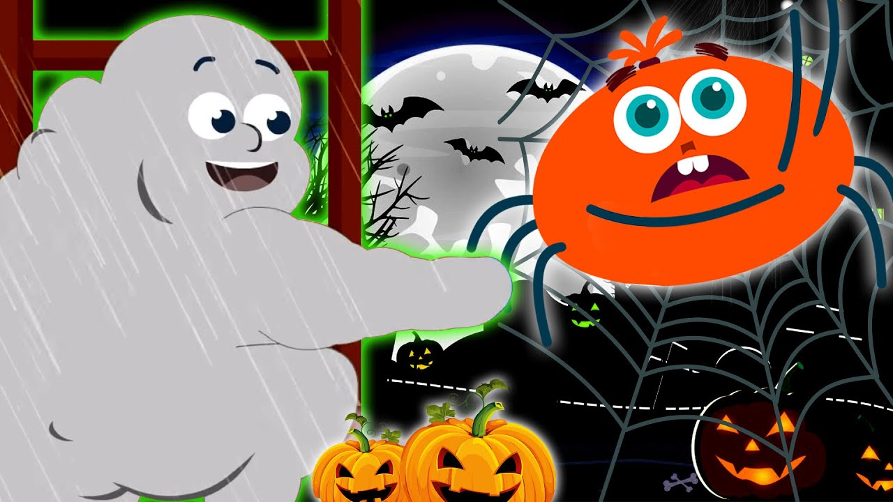 Halloween Songs | Cloud Monster And The Spider | Captain Discovery