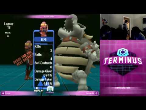 Losers Finals - Terminus 3 - Dante (Fox, Ike, Bowser) vs Marko64 (Sheik) - Project M