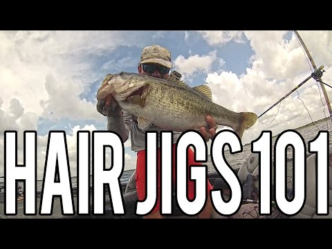 What You Need To Know To Fish For BASS With Hair Jigs - 101