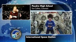 Expedition 56 Education Interview with Poudre High School - September 12, 2018