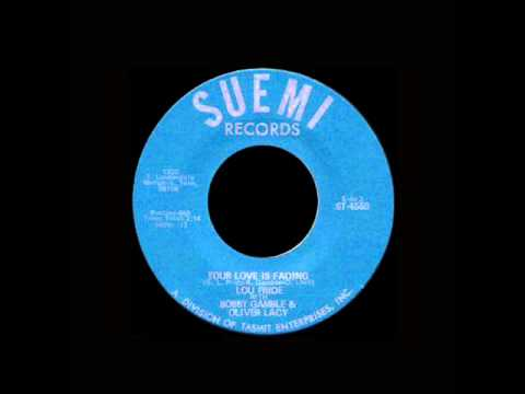 Lou Pride - Your Love Is Fading - YouTube